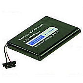 2-Power PDA0065A Lithium-Ion (Li-Ion) 1230mAh 3.7V rechargeable battery