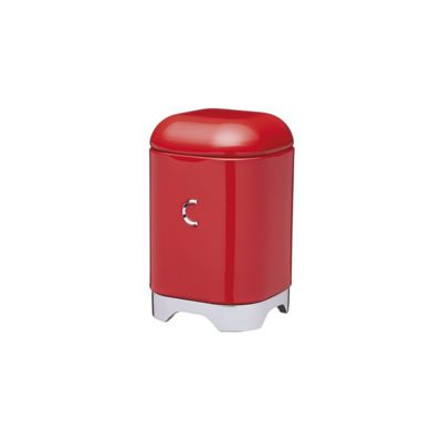 KitchenCraft Lovello Coffee Storage Jar in Red LOVCOFFEERED