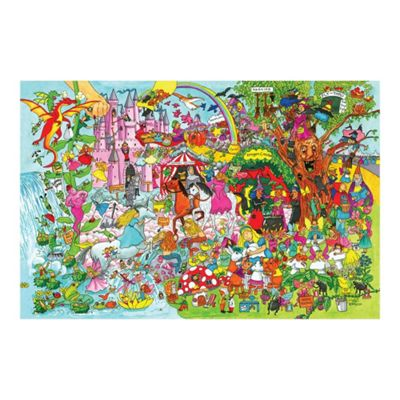 Bigjigs Toys Fantasyland Floor Puzzle (96 Piece)