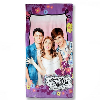 Disney Violetta 'Friends' Printed 100% Cotton Beach Towel