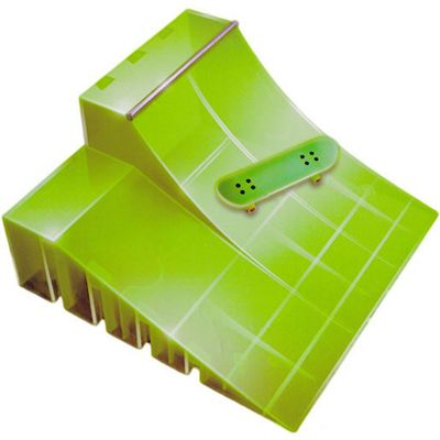 Tech Deck Neon Ramp with Skateboard - Green