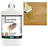 Polyvine Wax Finish Varnish- Dead Flat - 4 Litre