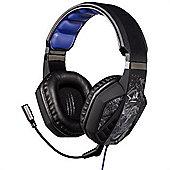 Hama uRage SoundZ Binaural Head-band Black Grey headset