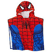 Marvel Spiderman Hooded Poncho Towel