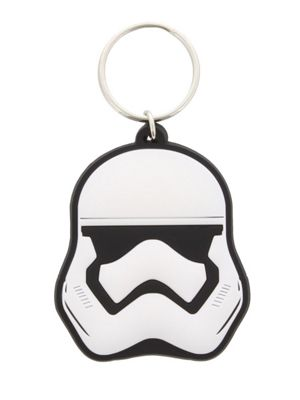 Star Wars Episode VII Stormtrooper Rubber Keyring