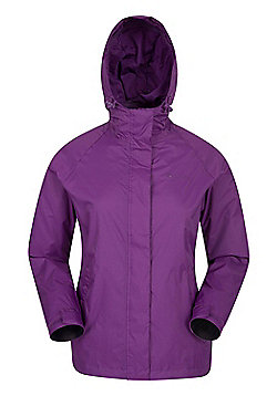 Mountain Warehouse Torrent Womens Waterproof Jacket - Purple