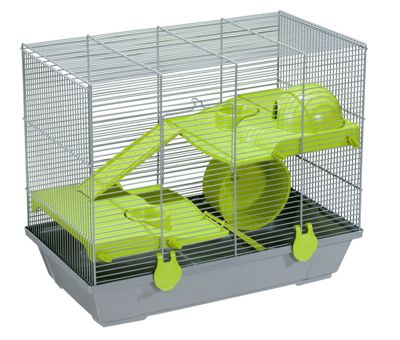 Voltrega Mia Mice Cage in Grey
