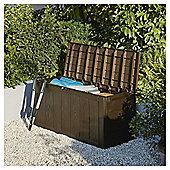 Keter Sherwood Plastic Garden Storage Box, 270L