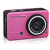Denver Pink ACT-5020TW HD Action camera with Screen & Phone App