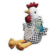 a'la Maison Chicken Weighted Doorstop 24.5cm