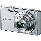 Sony DSC-W830S Compact Camera with 8x Optical Zoom, Silver