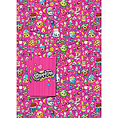 Shopkins 2 Sheet 2 Tag Gift Wrap