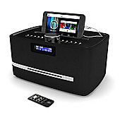 Majority Castle DAB FM Radio CD Player Alarm Clock With Bluetooth Micro HiFi System