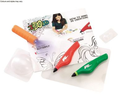IDO3D Activity Set With Two Pens - Butterflies and Fairies