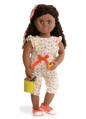 Our Generation 18-inch Doll Nahla With Book