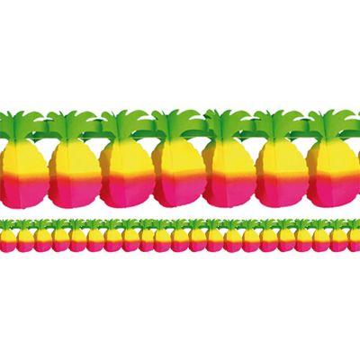 Pineapple Paper Garland - 4m Hawaiian Decoration