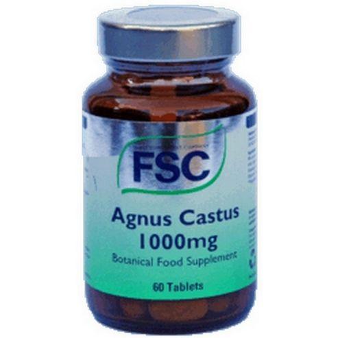 Fsc Agnus Castus 1000mg 60 Tablets
