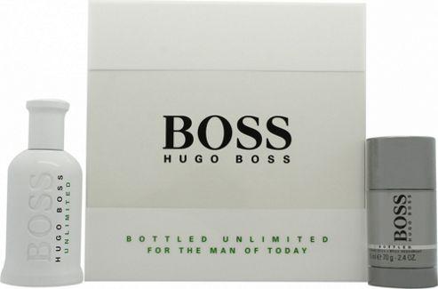 Buy Hugo Boss Boss Bottled Unlimited Eau De Toilette Gift Set 100ml