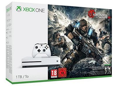 Xbox One S 1TB Gears of War 4 Console Bundle