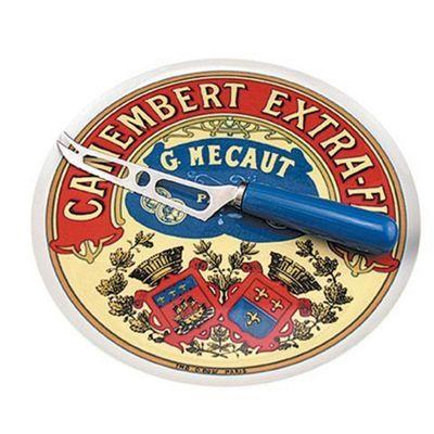 Camembert Platter & Knife - 1x2