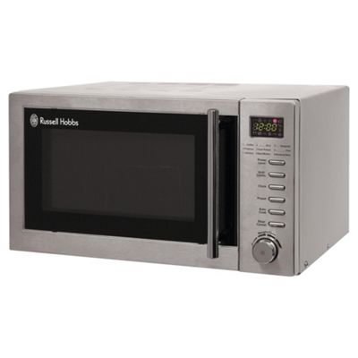Russell Hobbs RHM2031, 20 Litre Digital Microwave with Grill, Stainless Steel