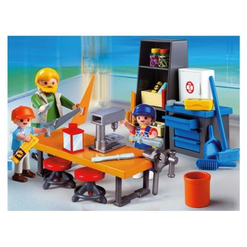 Playmobil Woodshop Class