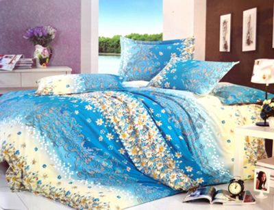 Floral Flower Half Set Bedding Single Duvet Cover