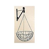 Home Gardener Hanging Basket 12in