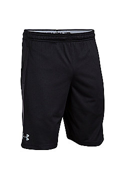 Under Armour Tech Mesh Mens Running Fitness Short Black - L - Black