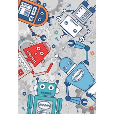 Robot Blue Wall Art