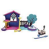 Pet Parade Kittens Play Garden Playset