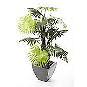 Closer To Nature Artificial 4ft Mini Palm Tree