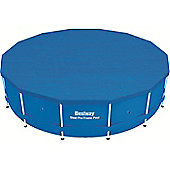 "Bestway 14ft x 48"" Steel Pro Frame Winter Debris Pool Cover"