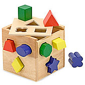 Melissa & Doug - Shape Sorting Cube