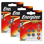 12 x Energizer LR44 1.5V Alkaline Battery A76 AG13 PX76A G13A Batteries