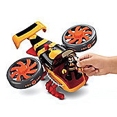 Imaginext Sky Racers Large Plane Hornet Copter and Pilot (Yellow/Orange) - Dolls and Playsets