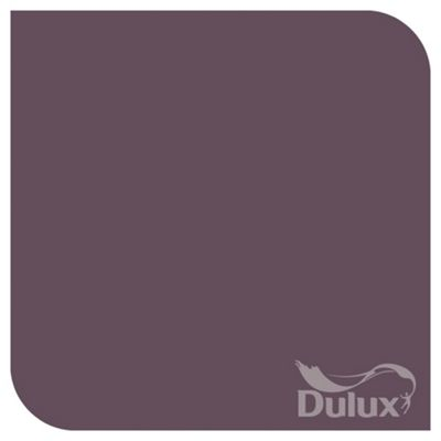 Dulux Feature Wall Matt Emulsion Paint, Mulberry Burst, 1.25L