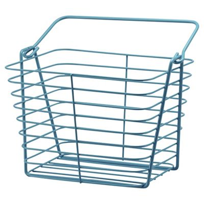 Tesco Blue Wire Basket. Buy Tesco Blue Wire Basket from our Storage Baskets   Bags range