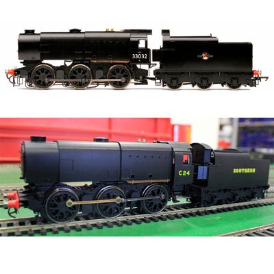 HORNBY Loco R3560 BR 0-6-0 '33032' Q1 Class Late BR