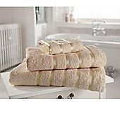 Towel Egyptian Cotton 'Kensington Natural' Plain Hand