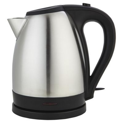 buy tesco jug kettle 1 7l stainless steel from our jug. Black Bedroom Furniture Sets. Home Design Ideas