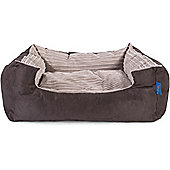 Silentnight Micro-Climate Snuggle Dog Bed - Cord Mink - Medium