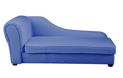 Children's Chaise Longue - Blue