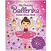 Igloo My Dancing Ballerina Sticker Mosaic Book