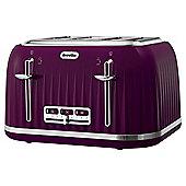 Breville VTT634 Impressions Damson Toaster