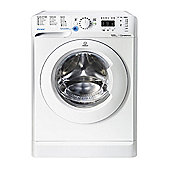 Indesit Innex Washing Machine, BWA 81483X W UK, 8kg, 1400rpm - White