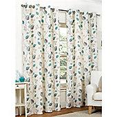 Hamilton McBride April Eyelet Lined Curtains - Teal
