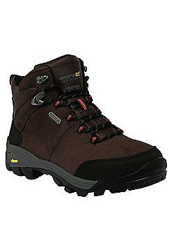 Regatta Mens Asheland Leather Boot - Brown