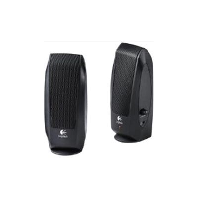 Logitech S120 (2.5W RMS) Speakers System (Black)