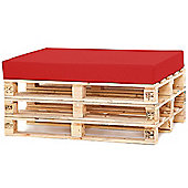 Water Resistant Pallet Seat Cushion - Red